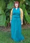 Linen Chuba dress